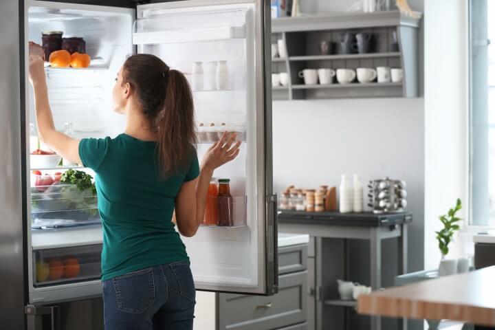 loud buzzing noise from fridge